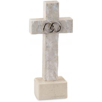 stone wedding cross for your wedding ceremony, handcrafted from stone quarried in the hills of Jerusalem