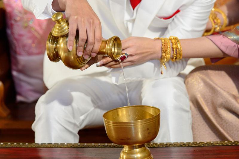 Buddhist wedding